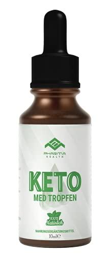 Keto Med Tropfen | Ketose Liquid - Kohlenhydratblocker | Kohlenhydrate Blocker - K Drops | 10 ml (1 Flasche)