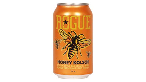 Cerveza Rogue Honey kolsch 35,5cl LATA PACK 6UNIDADES