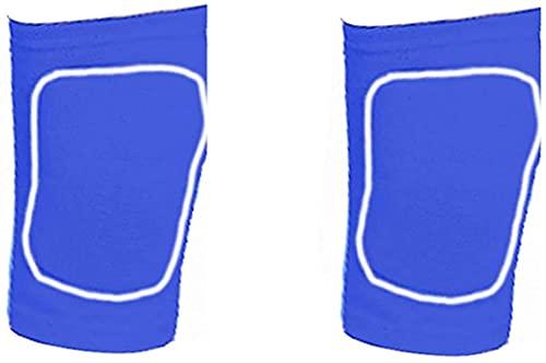 AACXRCR Rodilleras Infantiles Movimiento Baloncesto Fútbol Pulsera Anti-Fall Dance Gear Protective Gear Summer Delgado, Azul, S (Color : Blue, Size : M)