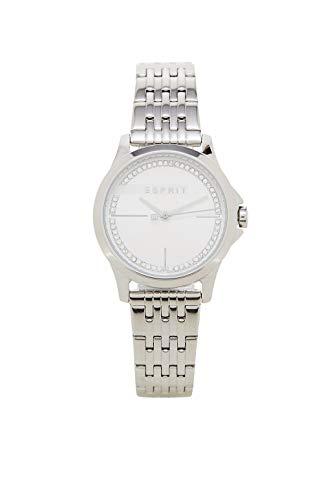 Esprit Damen Analog Quarz Uhr mit Edelstahl Armband ES1L028M0055