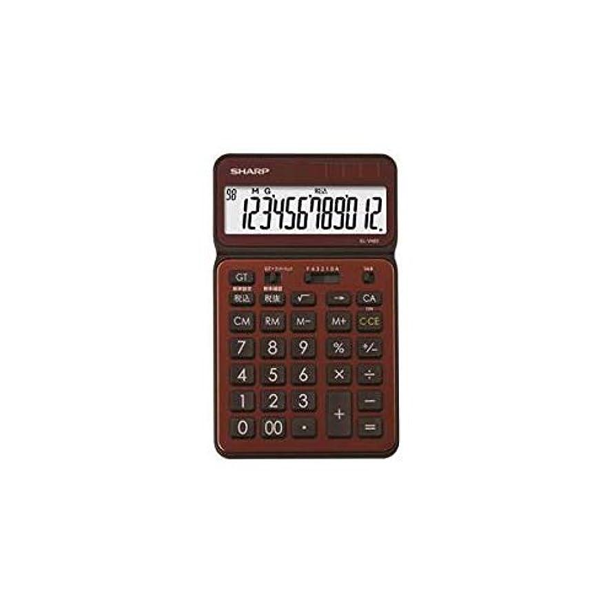 郵便物不和不愉快SHARP 卓上電卓 12桁 50周年記念モデル ブラウン EL-VN82-TX 生活用品 インテリア 雑貨 文具 オフィス用品 電卓 top1-ds-2109665-se-ah [簡素パッケージ品]