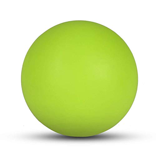 Turboom Massage Lacrosse Ball for Sore Muscles, Shoulders, Neck, Back, Foot, Body, Deep Tissue, Trigger Point, Muscle Knots, Yoga and Myofascial Release (Green)