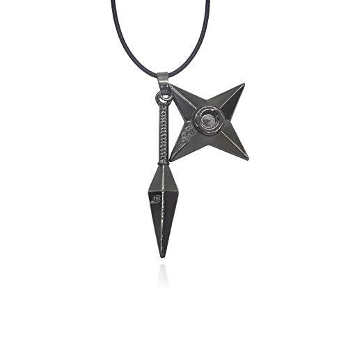 Shuriken Darts Anhänger Halsketten Herren Schmuck Acryl Zubehör Choker Halskette