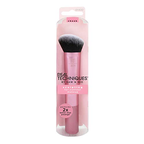 Real Techniques Sculpting Brush - Brocha para Contorno, Rosa