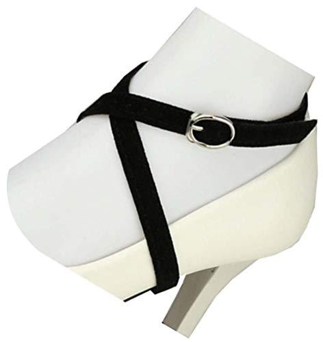 Sangle de chaussure durable détachable, talons hauts anti-lâche pour femmes