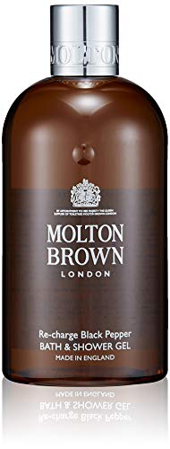 Molton Brown Bath & Shower Gel, Re-Charge Black Pepper, 10 Fl Oz