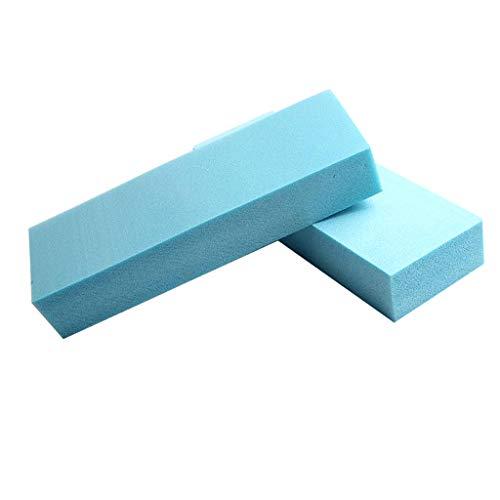 Sharplace 5pcs Plaque de Mousse de Haute Densité Polystyrène Multifonctionnel Bricolage Table de Sable Modèle 29.5x10x5 cm Bleu