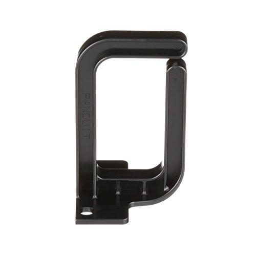 Panduit CMVDR1S Vertical Cable Management D-Ring, 1-Inch Wide, Black