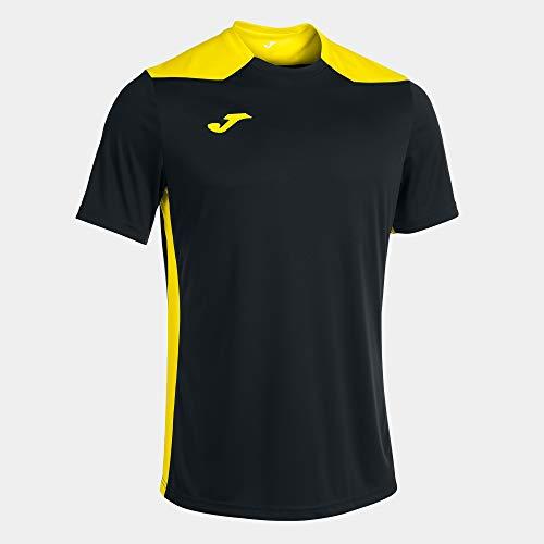 Camiseta Manga Corta Championship Vi Negro Amarillo