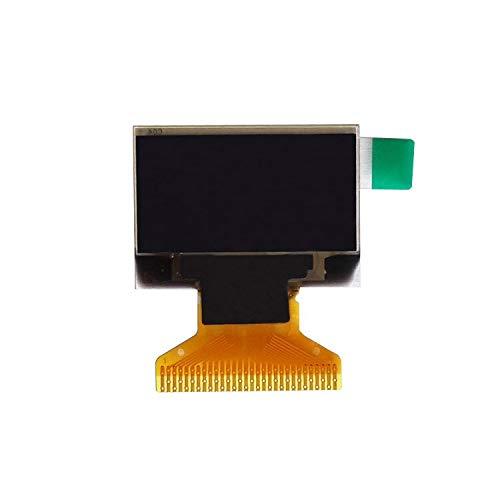 Tivivose 0,96 Zoll IIC Serien 4Pin Weiß/Blau/Gelb Blau/Gelb OLED-Anzeigemodul 128x64 12864 LCD-Bildschirmplatte für for Arduino OLED (Color : New LCD White)