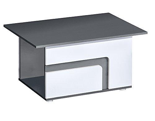 SMARTBett GmbH salontafel Abetito grijs/wit