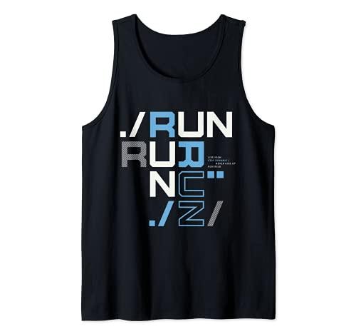 I Love Running, Run Tee shirts, Run Short Sleeve Graphic Camiseta sin Mangas
