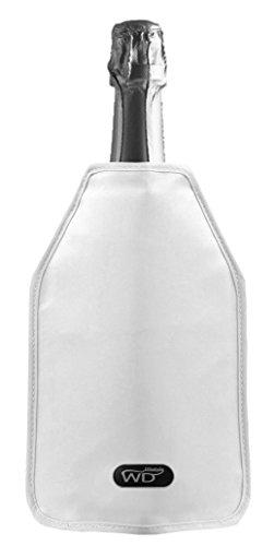 WD Lifestyle Glacette Morbida, Gel, Bianco, 15x2x17 cm