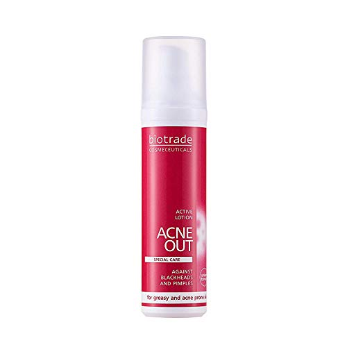 Biotrade Acne Out Active lotion 60 ml - For oily and acne-prone skin Regulates oiliness