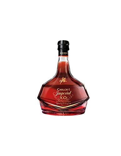 Carlos I Imperial, Solera Gran Reserva Brandy de Jerez, Bodegas Osborne, in Geschenkverpackung (1 x 0.7 l)