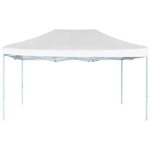 A-ZONE Carpa para Celebraciones Plegable Blanco 3x4,5 m