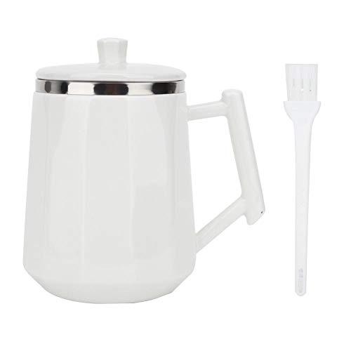 Taza blanca de 360 ml con agitación automática Taza de mezcla automática de leche de café inteligente para vagos Drinkware