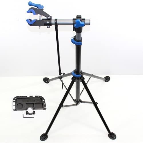 QMBasic Bike Repair Montageständer Fahrrad Reparatur Teleskop Stativ Ständer mit Schnellspanner 30 kg