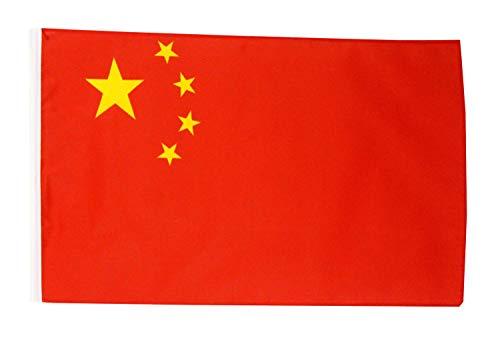 FlagSuperstore© China Bootsflagge 45,7 x 30,5 cm – Baumhäuser, Wohnwagen – Ärmel 45 cm x 30 cm – Country