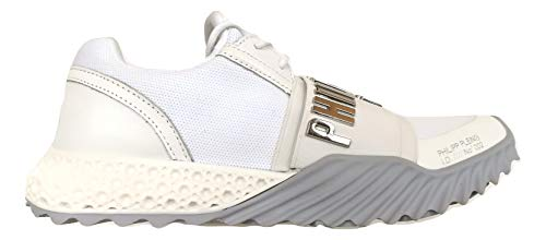 Philipp Plein Herren Sneakers Statement A19SUSC0028PTE003N Weiß, Weiß - Bianco - Größe: 43 EU