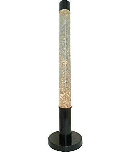 Lámpara de diseño con purpurina XXL cilindro de lava de 76 cm de altura Lámpara de pie ALAN sala de estar sala de los jóvenes