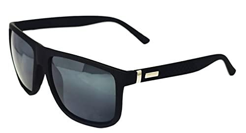 FIKO WAY MODERN - Gafas de sol Polarizadas Hombre y Mujer vintage Redondo Retrospectivo Lentes de sol Marco UV400