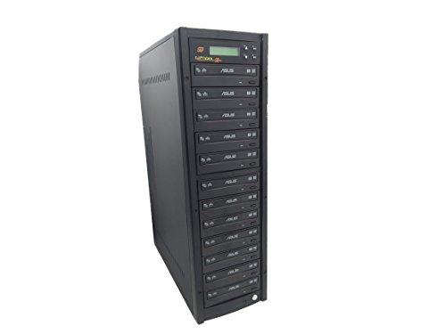 primera technology duplicators DVD duplicator Sata 24X Asus DVD Burner CD DVD Copier Copystars Duplication Tower 1 to 11