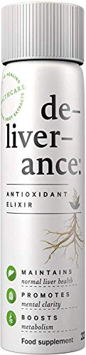 de-liver-ance - Liver Detox - Antioxidant Supplement - Immune Support - Natural Formula - Body Cleanse - Pack of 3