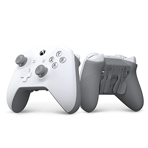 SCUF Prestige Custom Performance Controller for Xbox One, Xbox Series X, PC & Mobile - White & Gray V2