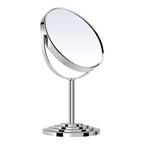HY Miroir grossissant rond de 17,8 cm avec grossissement 3X