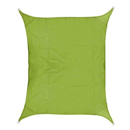 LOMAX Resistente al Agua Tienda, 3x4m 420d Oxford poliéster Impermeable Tienda de Vela Parasol Toldo Toldo Exterior Al Aire Libre (Color : Green)
