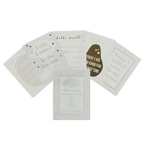 Babys First 30 cartes Milestone Bambino Collection Cadeau de naissance
