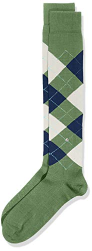 Burlington Herren Kniestrümpfe Manchester M KH, 1er Pack, Grün (Hunter Green 7748), 40-46