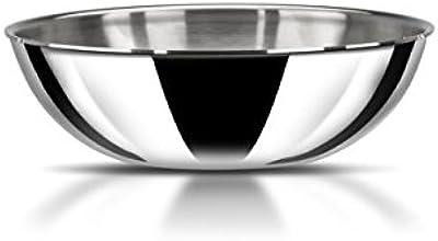 Stahl Triply Stainless Steel Artisan Tasla, 4622, 22cm, 1 Piece, Silver