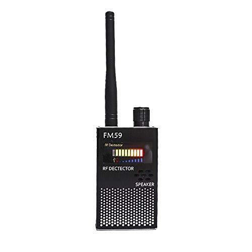ZHFENG FM59 1M-8000MHz GPS-Signal Funkwellen-Scan-Detektor Anti-Abhör-Überwachung Anti-Kamera-Multifunktionsdetektor Messgeräte