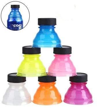Soda Can Lids 6 PCS- Bottle Tops,Pop Can Lids For Soda, Beer, Energy Drinks, Juice, Seltzer/Reusable Fizz Lids/Picnic/Beach/Family Gathering/Party Gadgets