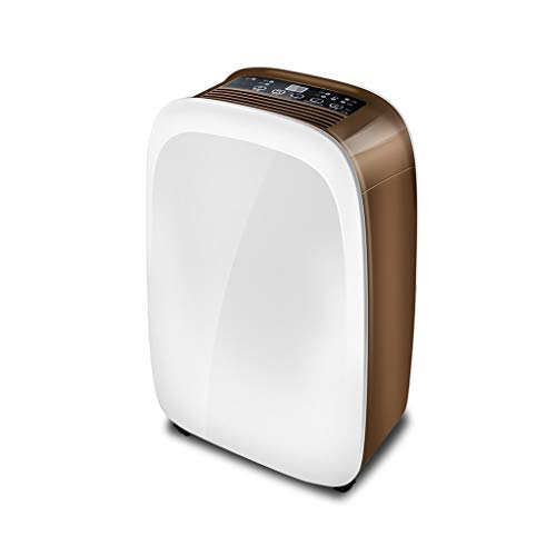 Bria - Deshumidificador grande (10 m/D, deshumidificador en interiores, cámara silenciosa, purificador de aire, se puede utilizar en salones subterráneos, armarios y sótanos, c1130