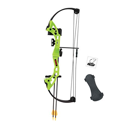 bear compound bow for kids - 1