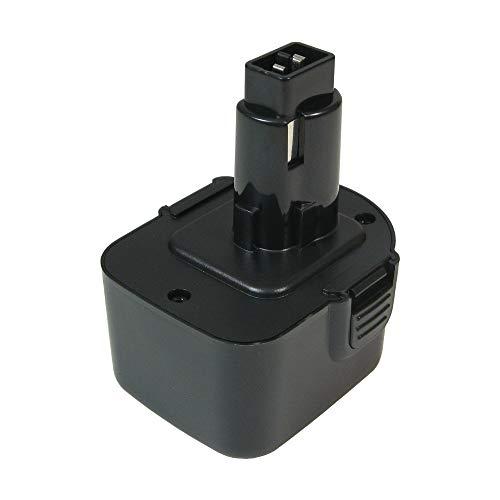 Batteria Ni-MH ad alte prestazioni, 12 V, 3000 mAh, sostituisce 15225027 39774501 DE9501 per Würth 15194613 Black & Decker A9252 A9275 A9266 Rems 571510 R12 571513