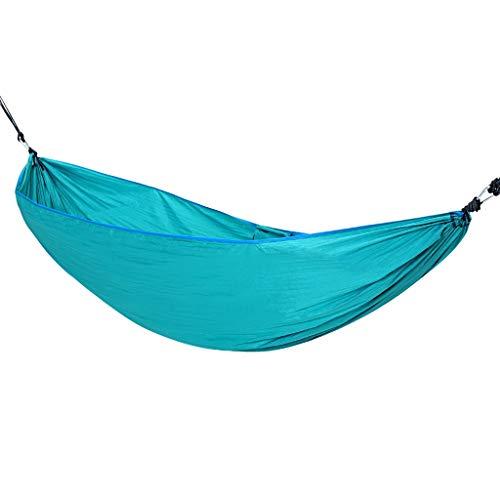 ZZL Amaca Camping Hamgock Swing Cama Cómoda Camping Hamaca Al Aire Libre Portátil para El Patio Trasero De La Playa De Viaje Durable (Color : Black)
