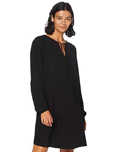 BOSS Damen Effei_1 Bluse, Schwarz (Black 1), (Herstellergröße: 44)