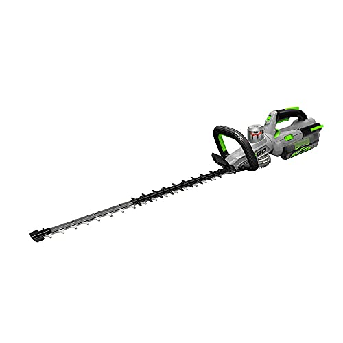 EGO Power+ HT2501 25-Inch 56-Volt Lithium-ion Cordless Hedge Trimmer Kit with 2.5Ah Battery and Charger Included