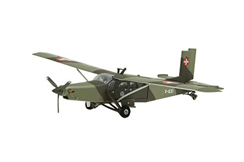 Arwci ACE-1/72 V-631 Pilatus PC-6 Turbo Porter Swiss Air Force Die-Cast, Modelli da Collezione, 881603