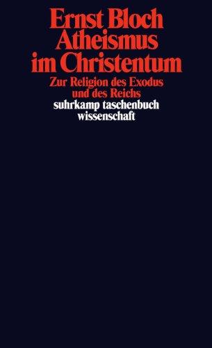 Atheismus im Christentum. Zur Religion des Exodus und des Reichs.: Gesamtausgabe in 16 Bänden, Band 14.: 563