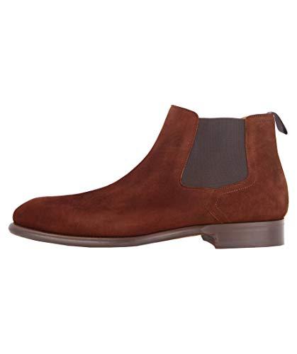 Magnanni Herren Chelsea Boots Caoba braun (25) 43