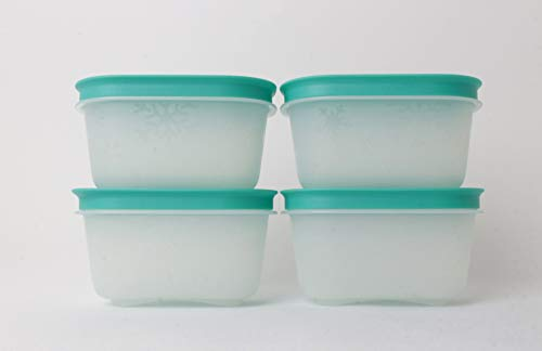 Tupperware Gefrier-Behälter170ml (4) transparent EIS-Kristall Eiskristall Dose
