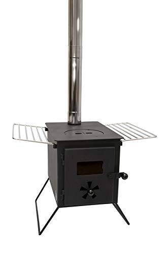 portable camping stove wood burning