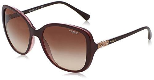 Vogue 0vo5154sb 194113 56 Gafas de sol, Top Brown/Opal Pink, Mujer