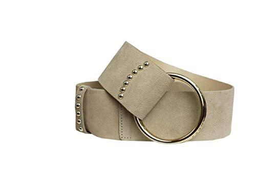 Guess Cinturón de mujer Ring W92Z69 L0HB0 beige S