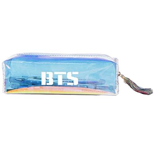 CHAIRAY Kpop BTS EXO GOT7 Pencil Case Student Pen Coin Purse Pouch Cosmetic Makeup Bag